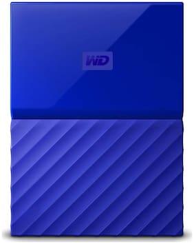 WD My Passport 1 Tb External Hard Disk ( Blue )