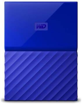 WD My Passport 1 TB Hard Disk Drive External Hard Disk USB 3.0 - Blue