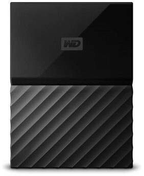 WD My Passport 1 Tb External Hard Disk ( Black )