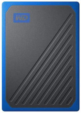 WD 500 GB USB 3.0 External SSD - Black & Blue