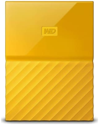 WD My Passport 1 TB USB 3.0 External HDD - Yellow