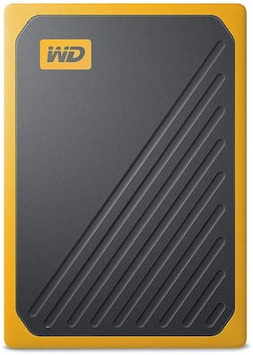 WD 500 GB USB 3.0 External SSD - Black