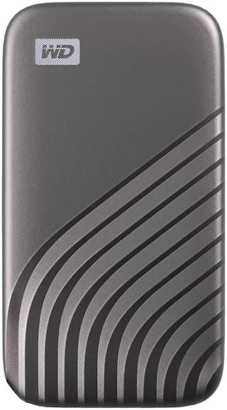 WD My Passport SSD 2TB Space Gray  1050MB/s Read  1000MB/s Write  for PC & Mac