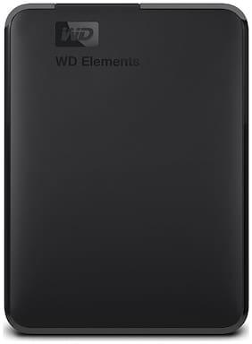 WD 4 TB Hard Disk Drive External Hard Disk USB 3.0 - Black , WDBU6Y0040BBK-WESN