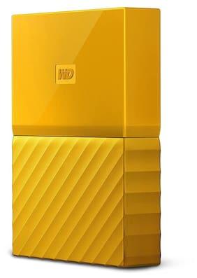 WD WDBYFT0020BYL 2 TB Desktop External Hard Disk (Yellow)