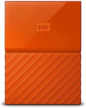 WD 4 TB Hard Disk Drive External Hard Disk USB 3.0 - Orange , WDBYFT0040BOR-WESN