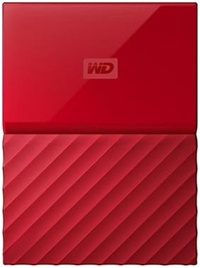 WD My Passport 1 TB USB 3.0 External HDD - Red