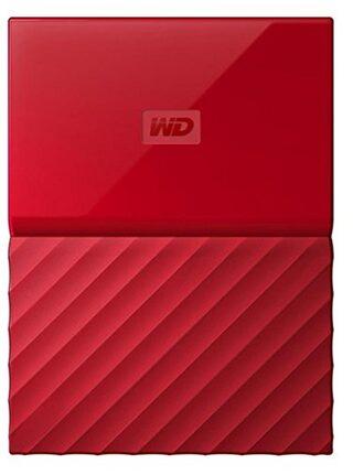 WD My Passport 1 Tb External Hard Disk ( Red )