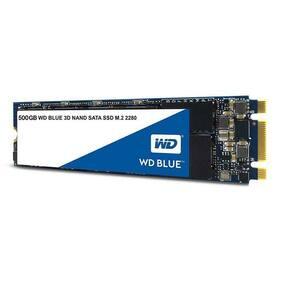 Western Digital WDS500G2B0B 3D NAND 500GB PC SSD - Sata III M.2 2280 Solid St...