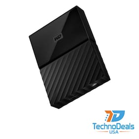 Western Digital My Passport 4TB Portable External Hard Drive - BLACK