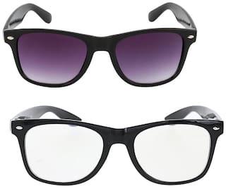 Adam jones Men Wayfarers Sunglasses