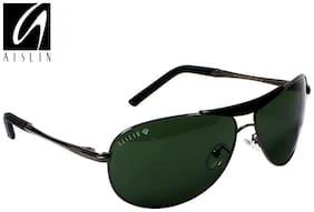 AISLIN Premium Gun Metal Aviator Sunglasses (AS-3455DH-2-GUN)