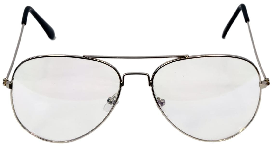 f13c13ea57 Buy Ansh Blue Bay Aviator Spectacle glasses. Online at Low Prices in ...
