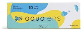Aqualens Clear Daily Contact Lenses - 10 lens pack