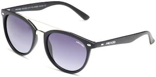 ARCADIO Polarized lens Round Frame Sunglasses for Men