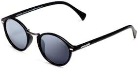 ARCADIO Polarized lens Round Frame Sunglasses for Men - Sunglass & Warranty card