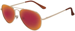 ARCADIO Regular lens Aviator Sunglasses for Women