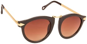 ARZONAI Polarized lens Round Frame Sunglasses for Women
