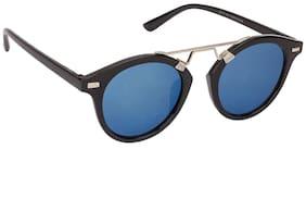 ARZONAI Blue Oval Medium Sunglasses