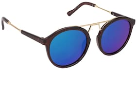 ARZONAI Green Oval Medium Sunglasses