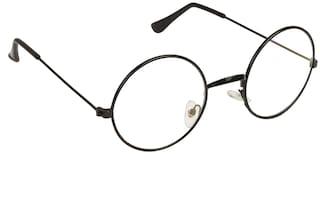 ARZONAI Black Round Full Rim Eyeglasses for Men - 1