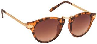 ARZONAI Polarized lens Round Frame Sunglasses for Men
