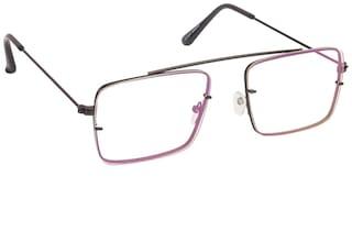ARZONAI Black Square Full Rim Eyeglasses for Men - 1
