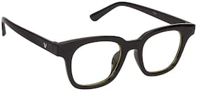 ARZONAI Black Square Full Rim Eyeglasses for Men - 1