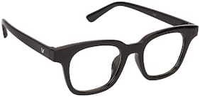 ARZONAI Black Aviator Full Rim Eyeglasses for Men - Sunglass comes with a case & Selvet cloth and a warranty card