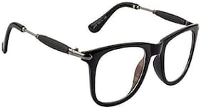 ARZONAI Black Wayfarer Full Rim Eyeglasses for Men - Sunglass comes with a case & Selvet cloth and a warranty card