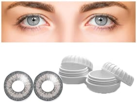Aura Grey Monthly Contact Lenses - 2 lens pack