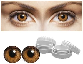 Aura Honey Monthly Contact Lenses - 1 lens pack