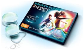 Bausch & Lomb Iconnect Monthly Contact Lens (3Lens Pack) By VisionsIndia