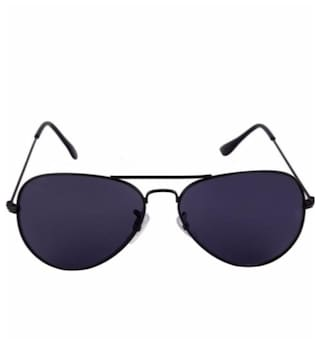 e9d53ec527b5e Buy Black Aviator Police Sunglasses for Men Online at Low Prices in ...