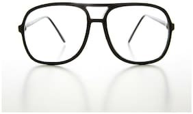 Black Retro Aviator Cheater Glasses 2.50 Diopter - Bob