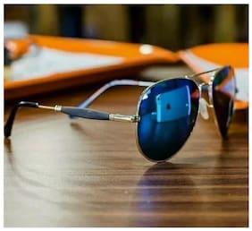 Blue Aviator Sunglasses ( STYLEGURU118 )
