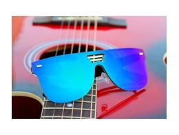 178d357677e06 Buy Bollywood Style Round Blue Mirror Wayfarer Sunglasses for Unisex Online  at Low Prices in India - Paytmmall.com