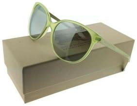 Burberry BE4146-34856V Women's Green Frame Grey Lens Genuine Sunglasses NWT
