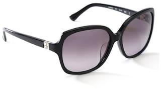 d7b1ae0713 Buy Calvin Klein Women Square Black Sunglasses CK4228SA 001 Online ...