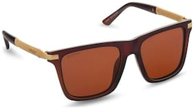 CAPRIO Regular lens Square Frame Sunglasses for Men