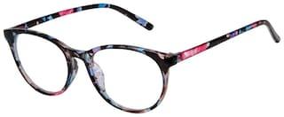 Cardon Black Round Full Rim Eyeglasses for Women
