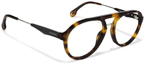 CARRERA [CA 137V SX7 5317] BROWN AVIATOR EYEGLASSES