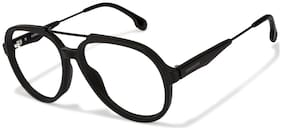 Carrera Black Aviator Full Rim Eyeglasses for Men - Eyeglass frame & Case