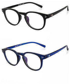 Combo Of EYEVY Black Lightweight Round Frame