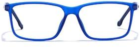 Coolwinks Blue RetroSquare Men Eyeglasses