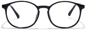 Coolwinks Black Full Frame Round Unisex Eyeglasses