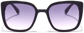 Coolwinks Black Square Sunglasses