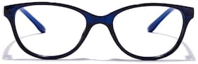 Coolwinks Blue Oval Eyeglasses for Kid's
