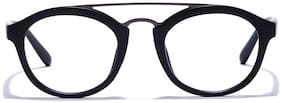 Coolwinks Matte Black Full Frame Round Men Eyeglasses