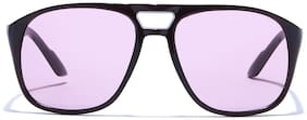 Coolwinks Purple Tinted Retro Square Sunglasses for Men and Women